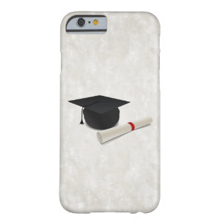 Graduation Cap Diploma Customizable Barely There iPhone 6 Case