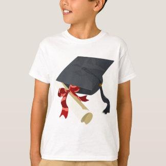 Graduation Cap & Diploma T-Shirt