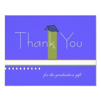 Graduation Cap Thank You Notecard / Personalized S 11 Cm X 14 Cm Invitation Card
