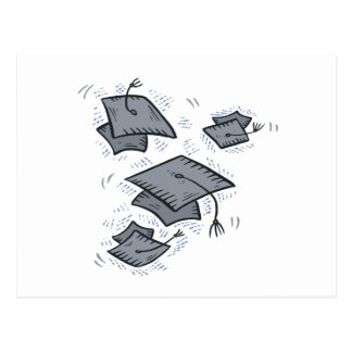 Graduation Caps Postcard