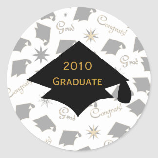 Graduation Caps Stickers
