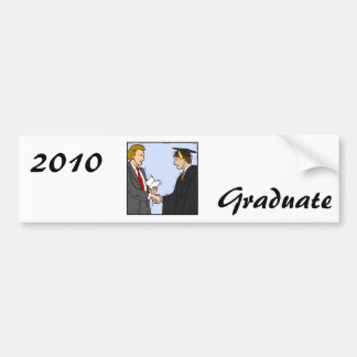 Graduation Car Bumper Sticker