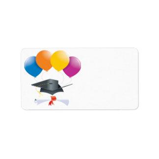 Graduation Celebration 2 Address Label