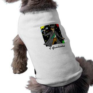 Graduation Celebration Dog Shirt