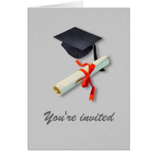 Graduation Celebration Invitation Greeting Card
