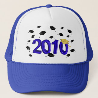 Graduation - Class of 2010 - Blue and Gold Trucker Hat