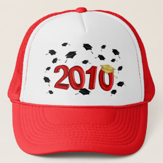 Graduation - Class of 2010 - Red and Gold Trucker Hat