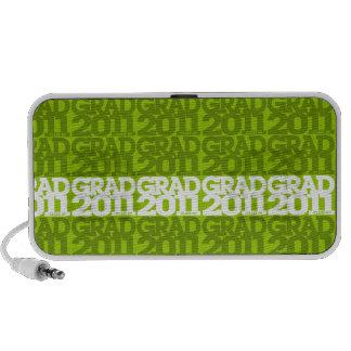 Graduation Class of 2011 Green Doodle Speakers