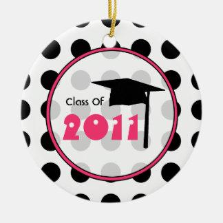 Graduation Class of 2011 Polka Dot Ornament