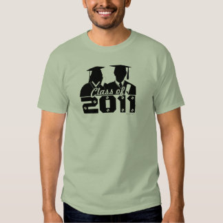 Graduation Class Of 2011 T-Shirt Gown 24
