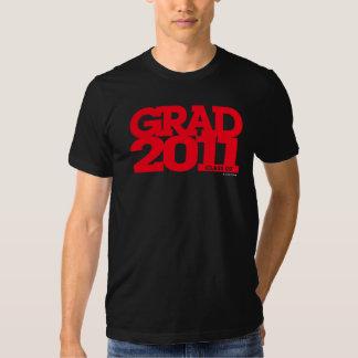 Graduation Class Of 2011 T-Shirt Red Black