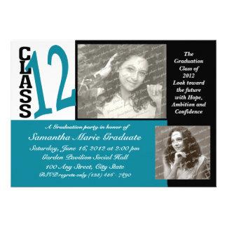 Graduation Class of 2012 Personalized Invitations