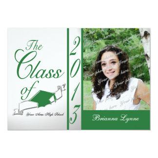 Graduation Class of 2013 Photo Green Card