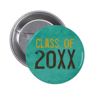 "Graduation ""Class of"" Graduation Button"
