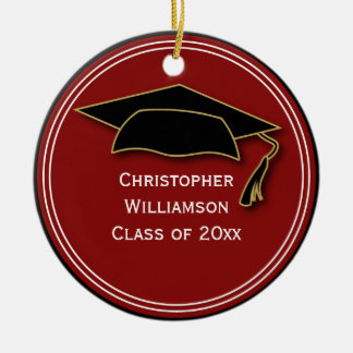 Graduation Class of Keepsake School Memento Christmas Ornament