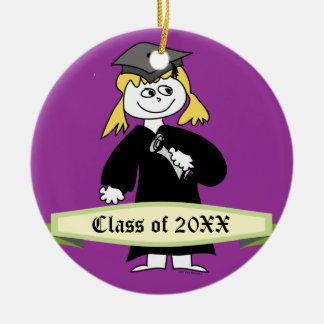 Graduation Class of Personalized Round Ceramic Decoration