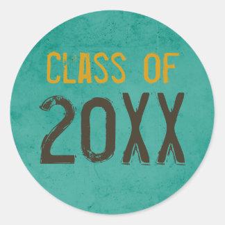 "Graduation ""Class of"" Stickers"