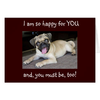 GRADUATION-CONGRATS HAPPY FOR YOU! CARD