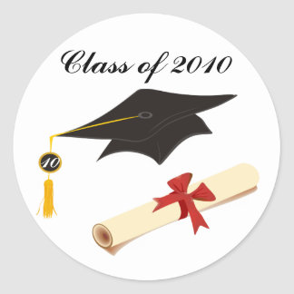 Graduation Congratulations Round Sticker