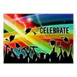 Graduation Crowd Electric Lightning Celebrate
