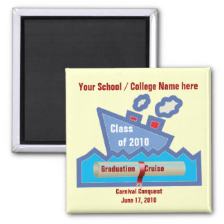 Graduation Cruise Magnet