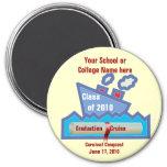 Graduation Cruise Magnet -LARGE