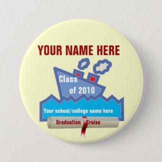 Graduation Cruise Name Pin