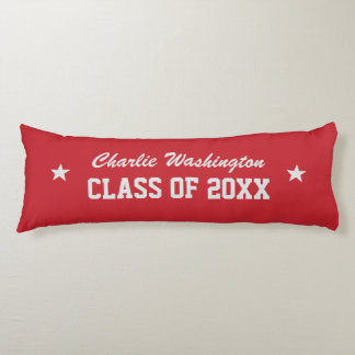 Graduation custom name, year & color body pillow