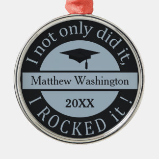 Graduation custom name & year ornament