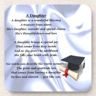 Graduation - Daughter Poem Coaster