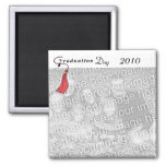 Graduation Day RED Refrigerator Magnets