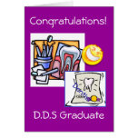 Graduation - Dentist D.D.S Greeting Cards