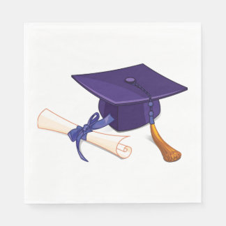 Graduation Disposable Serviette
