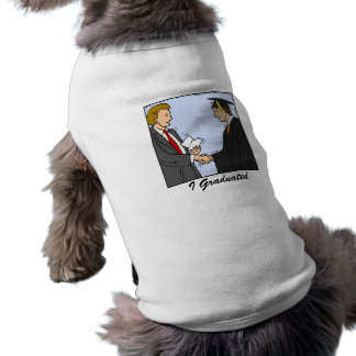 Graduation Dog T Shirt