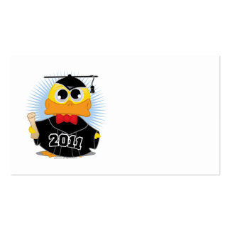 Graduation Duck 2011 Pack Of Standard Business Cards