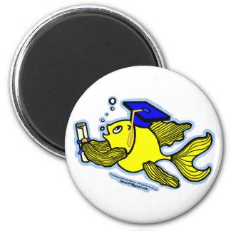 Graduation Fish Graduate Magnet