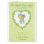 Graduation-For a Special Granddaughter Greeting Card