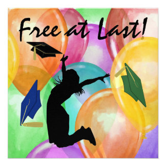 Graduation - Free At Last - SRF Announcements