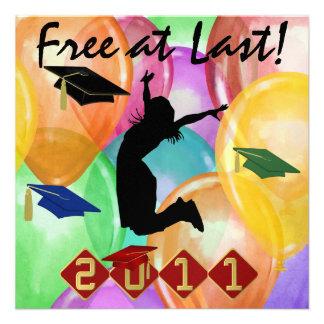 Graduation - Free At Last -  SRF Announcement