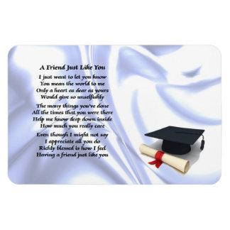 Graduation Friend Poem Magnet