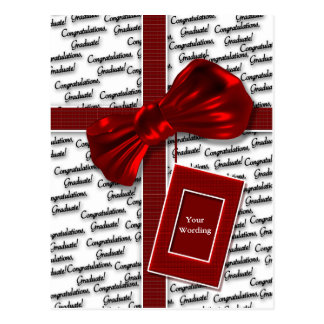 Graduation gifts for men & women greeting postcard