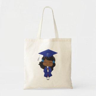 Graduation Girl in Blue
