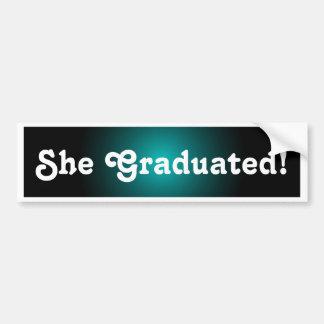 Graduation Grad Grads Congratulations Sticker Gift Bumper Sticker