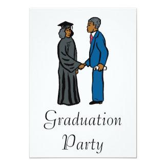 Graduation Handshake Card