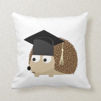 Graduation hedgehog cushion