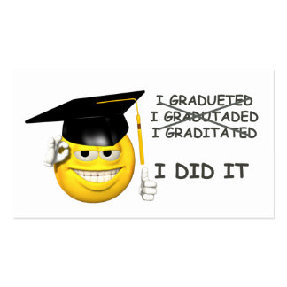 Graduation (  I DID IT ) Pack Of Standard Business Cards