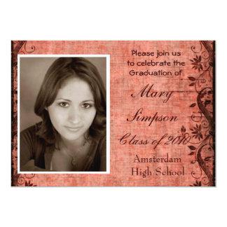 "Graduation Invitation Cards 5"" X 7"" Invitation Card"