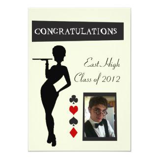 Graduation Invitiation 13 Cm X 18 Cm Invitation Card