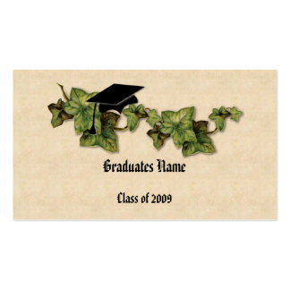 Graduation Ivy Name Card Pack Of Standard Business Cards