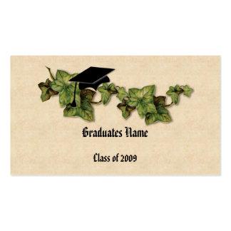Graduation Ivy Name Card Business Card